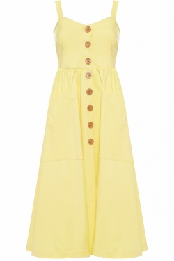 DARIA YELLOW DRESS
